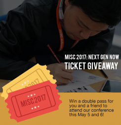 Win a double-pass to MISC 2017 for you and a friend!